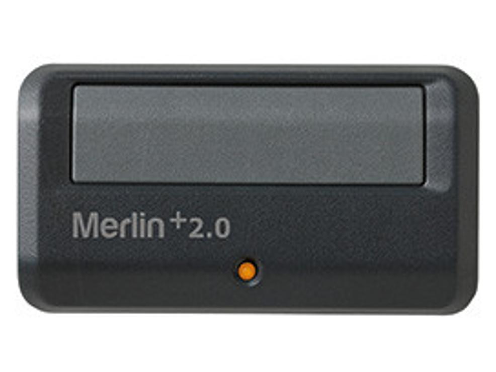 Single Button Remote Control with Car Visor Clip (Security+ 2.0)